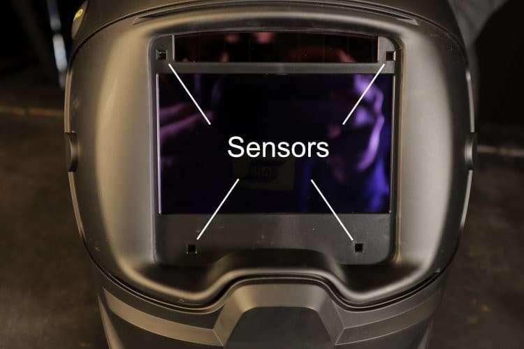 ESAB sentinel lens