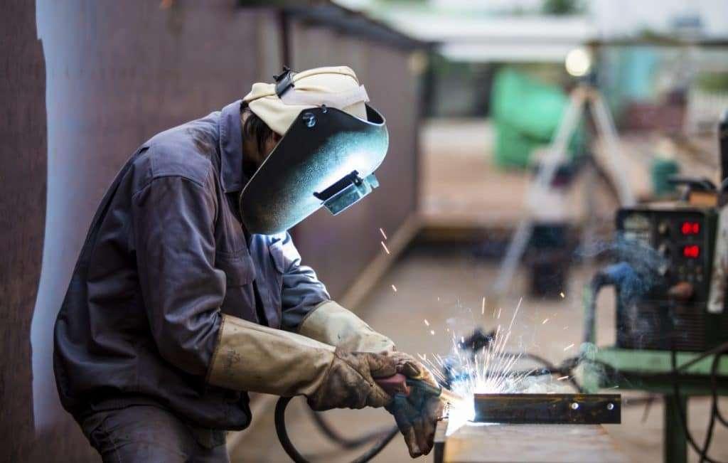 MIG welding gas