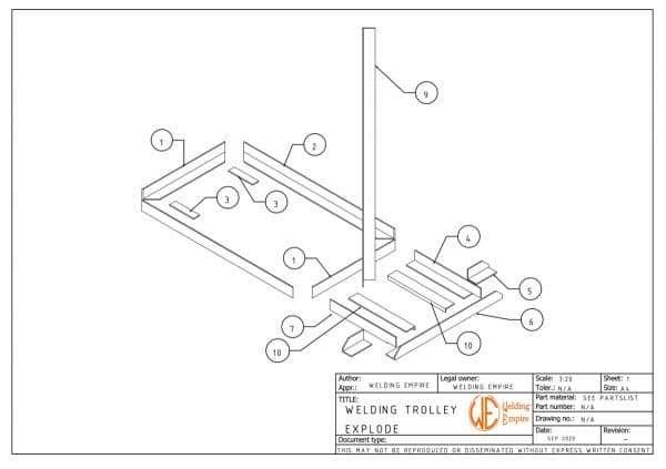 welding cart plans pdf